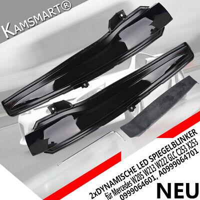 2x Dynamische Spiegelblinker LED Blinker Für Mercedes W205 W213 W222 GLC C/X253