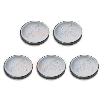5 PACK Battery Coin Button Watch Calculator 3V CR1632 CR 1632 Authorized Seller