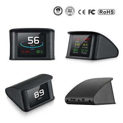 Auto HUD P10 OBD2 EOBD Head Up Display Speedometer 2.2