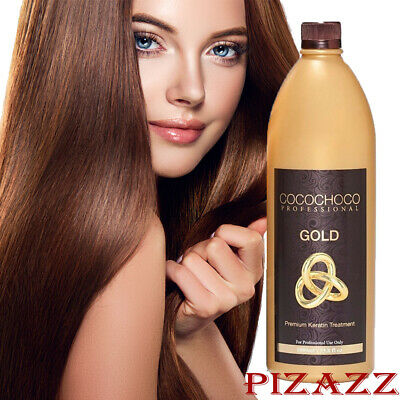 COCOCHOCO Gold Brazilian Keratin Hair Treatment 34oz/1000 ml