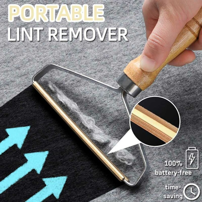 Portable Mini Lint Remover Hair Ball Trimmer Fuzz Fabric Coat Manual Shaver Tool