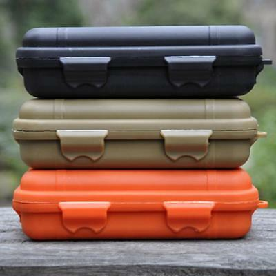 Plastic Waterproof Outdoor EDC Survival Container Storage Case Carry Box