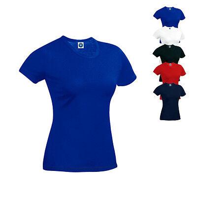 Starworld Damen Hefty Tee T-Shirt Shirt Heavyweight Rundhals S M L XL Neuware - Damen Heavyweight Tee