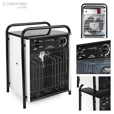 TROTEC TDS 75 Calefactor eléctrico portátil, Aerotermo, Generador con 15 kW