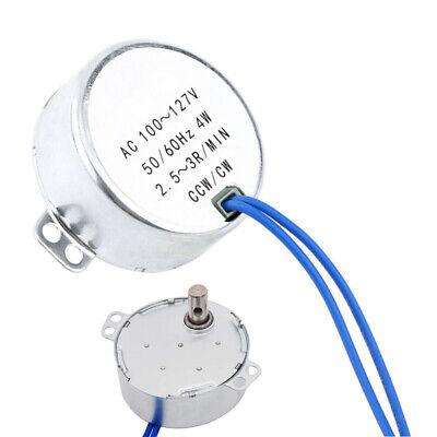 Electric Motor Synchronous Motor 5060hz Ac 110-127v 4w Ccwcw Ac Motor 2.53rpm