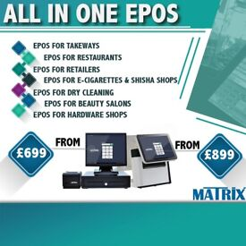 Takeaway/Restaurant Epos System With Free Card payment terminal