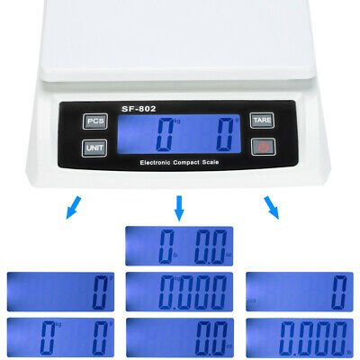 Accuteck Shippro Sf-802 66lbs X 0.1 Oz Black Digital Shipping Postal Scale Usa