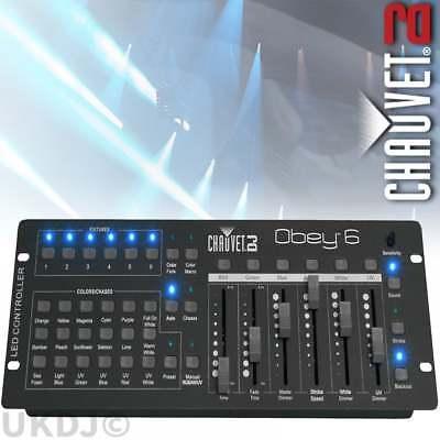 Chauvet Obey 6 Universal Par DMX Lighting Controller for LED Lighting Effects FX