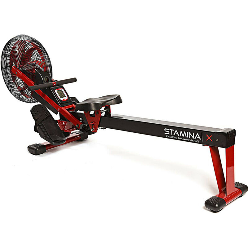 Stamina X Air Rower, Red (35-1412) - Open Box