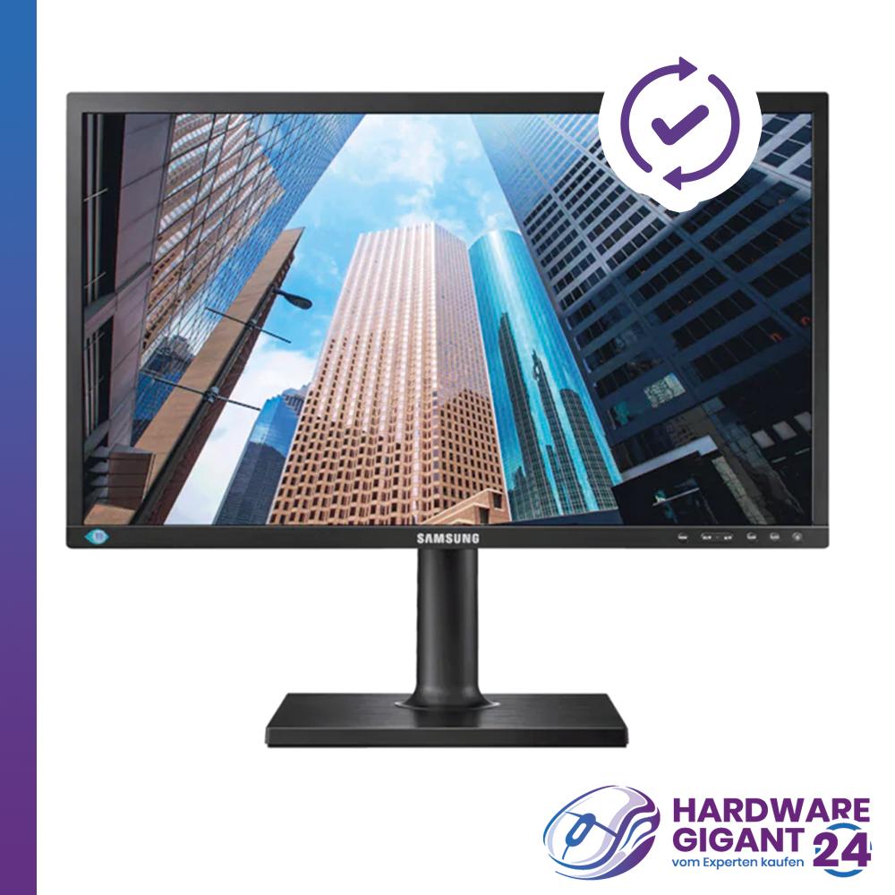"""Monitor Samsung S24E650PL (24"""") HDMI, DP, VGA, Pivot, Lautsprecher, Full HD, NEU"""