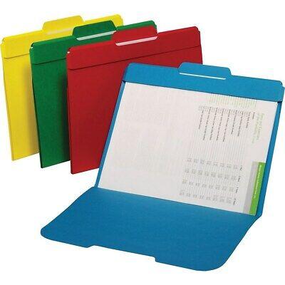 Staples Secure Colored File Folders Letter 3 Tab Center Position 50/Box (Letter File Safe Color)