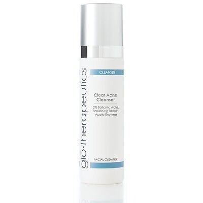 glotherapeutics Clear Acne Cleanser - 200ml / 6.7 oz (New in Box) EXP 1/2019
