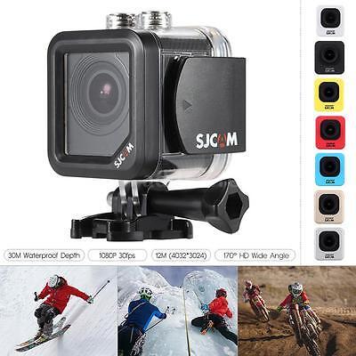 SJCAM M10 12MP HD 1080P Car Cam Sports Helmet DV Action Waterproof Camera P6H7