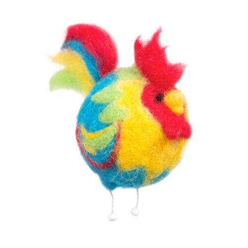 """""""Rooster""""Wool   Kit for Felting WT-0127"""