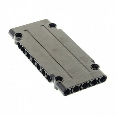 1x Lego Technic Construction Plate Panel Black 5x11x1 9398 10227 42069 4566243