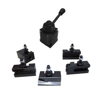 "10-15"" BXA Wedge Tool Post Set CNC Quick Change Lathe Holders 250-222 250-201"
