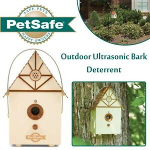 New  PetSafe Outdoor Ultrasonic Bark Deterrent Condition: New, Up to 50 ft. Range, Outdoor Use Only, No Collar Needed