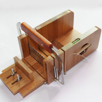 Pro. Practical Wooden Loaf Soap Cutter & Wavy Cutter Saw Kit Supplies