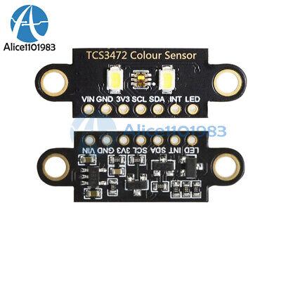 Tcs34725 Rgb 34725 Light Color Sensor Recognition Module For Arduino Uno Diy