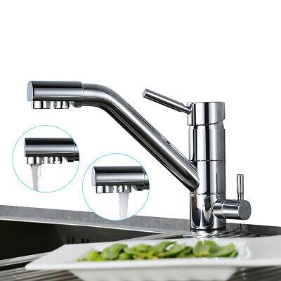 3 Wege Trinkwasser Wasserhahn Wasserfilter Spültischarmatur Mischbatterie Küche