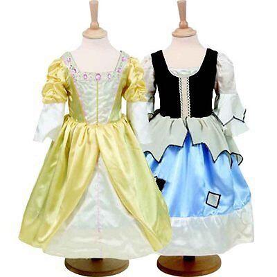 Girls Costume Book Week Dickens Princess & Pauper - Reversible  2 in 1 6-8 Year - Darth Vader Princess Costume