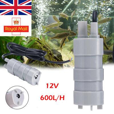 12V Water Pump Submersible Caravan Camper Motorhome High Flow Whale Pump NEW UK