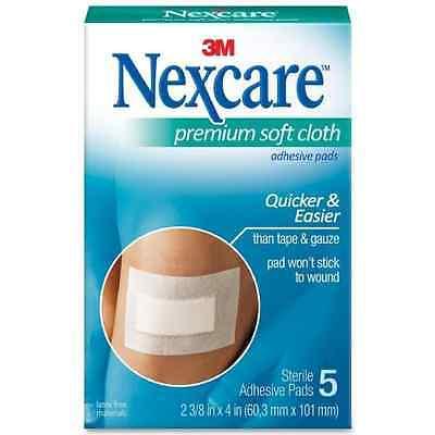 Nexcare Premium Soft Cloth Adhesive Pads 5 ea ()