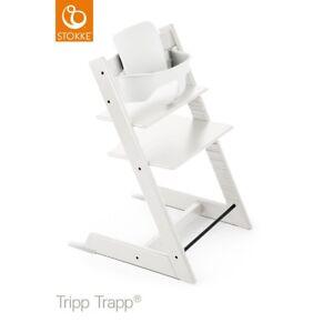 2 tripp trapp blanche de Stokke avec le kit complet