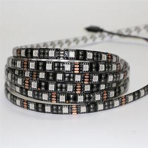 Impermeable-5050-SMD-RGB-Guirnalda-led-luz-Cinta-Bajo-Armario-Cocina-Lampara
