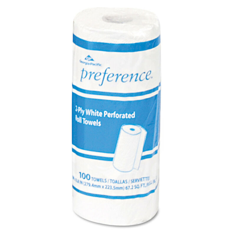 Georgia-Pacific Perforated Paper Towel 8 4/5x11 White 100/roll 30/ctn 27300 NEW
