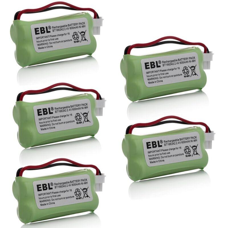 5x Cordless Home Phone Battery Pack For VTech BT166342 BT183342 BT283342 CS61142