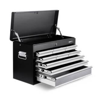 9 Drawers Tool Box Chest Black/Grey-BRAND NEW