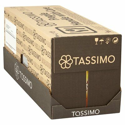 Tassimo Morning Cafe Coffee Pods (Pack of 5, 80 pods in total, 80 servings)