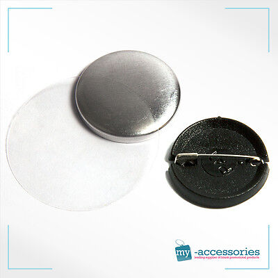 G Series 59mm Button Badge Components 300 No 59mm Pin Badge Components