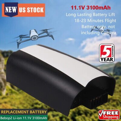 New 3100mAh 11.1V Lipo Battery Replacement For Imitate Bebop 2 Drone Quadcopter