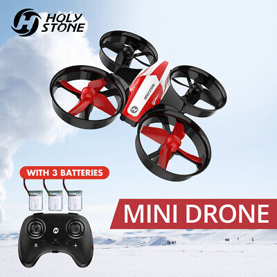 Holy Stone HS210 Mini Drone Auto Hovering 3D Flip RC Quadcopter Gift  3 Batterie