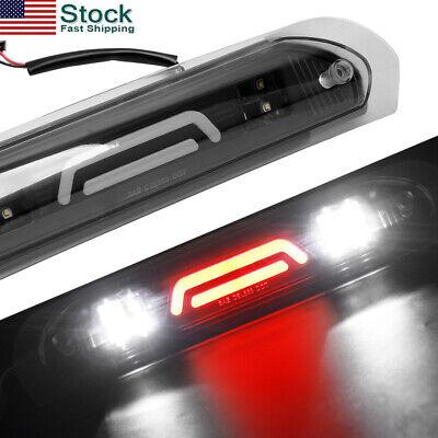 LED 3rd Third Brake Tail Light Red+White Lamp For 02-09 Dodge Ram 1500 2500 3500 Red Led 3rd Brake Light