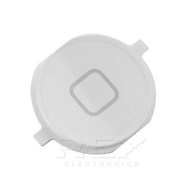Botón Home Menú para iPhone 4 y 4S, Repuesto en Color Blanco...