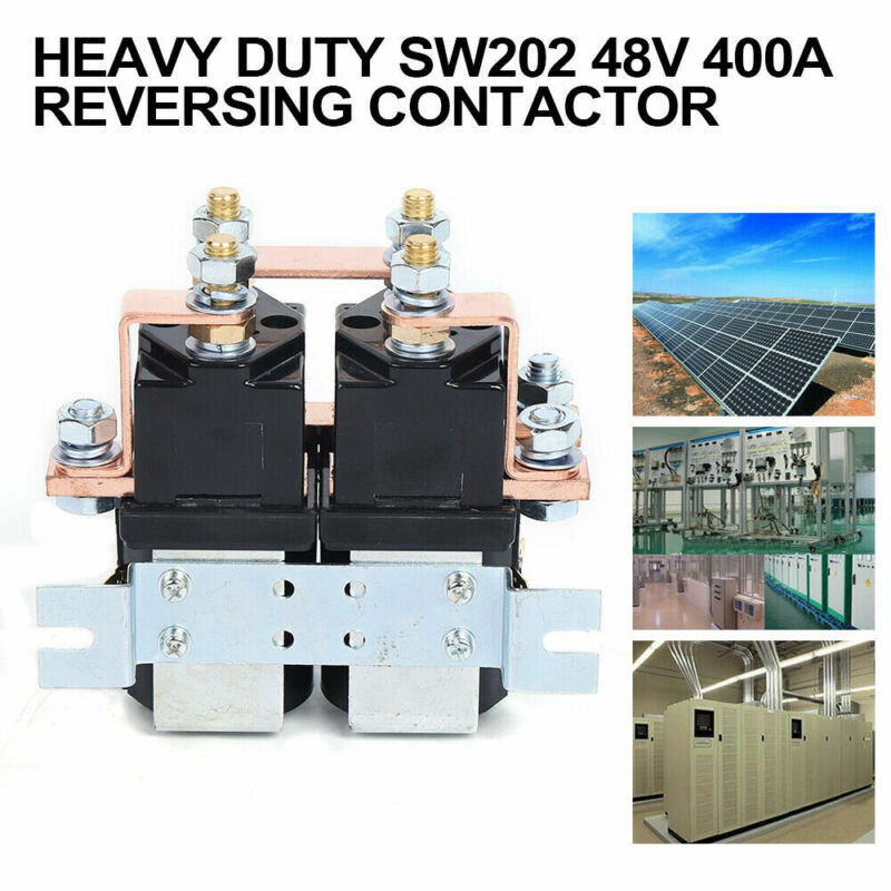 Reversing Contactor SW202 Switch Control for Golf Cart Electric Forklift Excavat