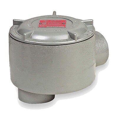"HUBBELL KILLARK VLJSX-2M Round Outlet Box,Shallow,3//4/"" Hub,Iron"