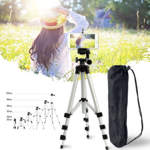Portable Professional Adjustable Tripod Stand Camera Cell Phone Mount Holder