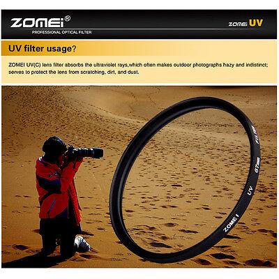 Zomei 77mm Genuine Ultra-Violet UV Filter Lens Protector for Canon Nikon camera