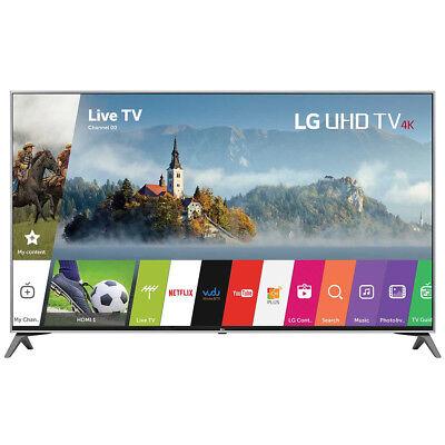 LG 65UJ6300 - 65-Inch 4K UHD HDR Smart LED TV (2017 Model) - OPEN BOX