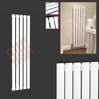 360mm x 1250mm Corwen Vertical White Flat Panel Designer Rad