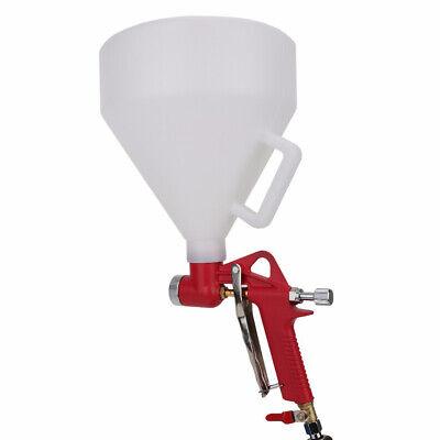 Wall Texture Air Hopper Spray Gun 6l Cup Drywall Render Plaster Painting Q5e6