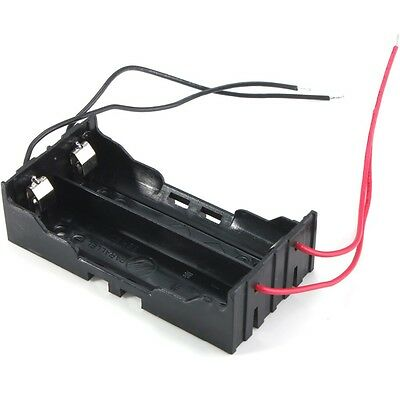 Plastic Battery Holder Storage Box Case For 2x 18650 Rechargeable Battery