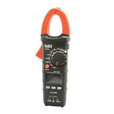 Klein Tools Cl312 Auto-ranging 400a Ac Digital Hvac Clamp Meter