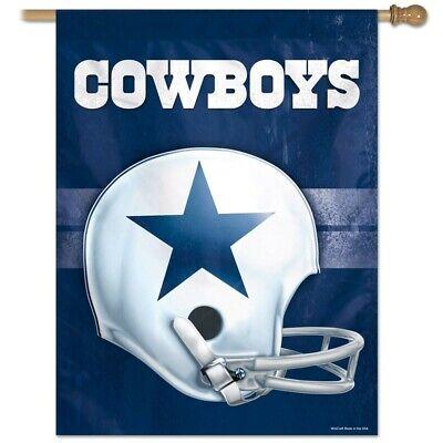 Throwback Vertical Flag - Dallas Cowboys 28X40 NFL Helmet Flag Vertical Banner Retro Throwback