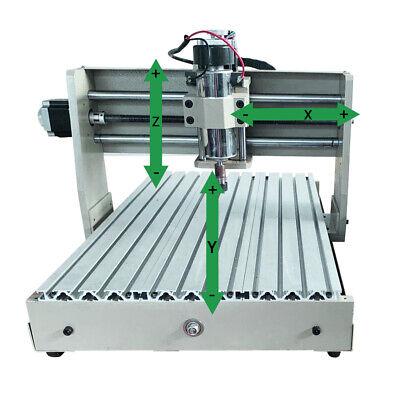 Usb 110v 4axis Router 3040 Cnc Engraver Wood Engraving Pcb Milling Machine 400w