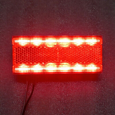 Rear carrier light with 1 red led with battery BTA bike lighting